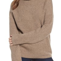 Trouvé Rib Funnel Neck Sweater | Nordstrom