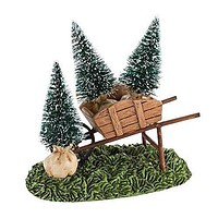 Department 56 Decorative Accessories for Village Collections, My Garden Wheelbarrow General Accessory, 1.77-Inch
