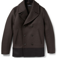Gucci - Panelled Quilted Wool Peacoat   MR PORTER