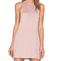 Dropwaist Dress in Blush