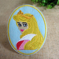 Disney Aurora Princess Iron on Patch 63-HA