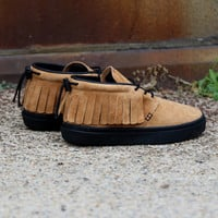 Clear Weather - The One-O-One - Honey Pig Black Pig Suede