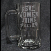 Real Women Drink Beer 20oz Mug
