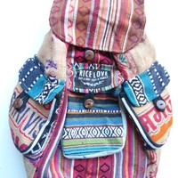 Recycled Travel Backpack #RL015566