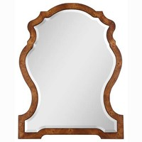 Aubrey Mirror Uttermost Arched & Crowned Mirrors Home Decor