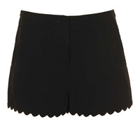 Petite Scallop Hem Shorts - New In This Week - New In - Topshop USA