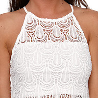 LA Hearts Goddess All Over Crochet Top at PacSun.com