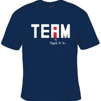 Funny TEAM Tee. Graphic Tee For Those Whole Prefer Working ALONE. Great Gift For Men And Women