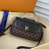 LV Louis Vuitton WOMEN'S DAMIER CANVAS HANDBAG INCLINED SHOULDER BAG