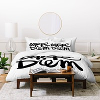 Kal Barteski Carpe Diem Duvet Cover