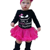 I'm A Nightmare Infant Pettiskirt Halloween Outfit