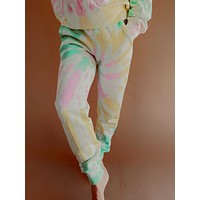 Together Is Better Joggers in Bright Dye