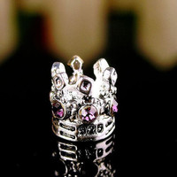 NEW Free Shipping 1PC Jewelry 925 Silver Bead Charm European Imperial Crown Bead Fit Pandora Bracelets & Bangles H606