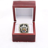 XW058 Fans 2005 Pittsburgh Steelers championship rings set for men