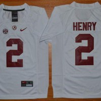 DCCK Nike Youth Alabama Crimson Tide Derrick Henry 2 College Ice Hockey Jerseys