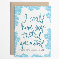 Thinking Of You Card - Texting Card, Card for Friend, Just Because Card - Notecard - Hello Card - Greeting Card/C-151