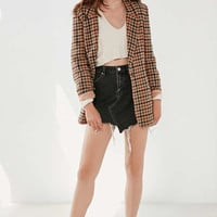 BDG Asymmetrical Denim Mini Skirt | Urban Outfitters