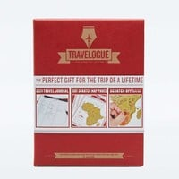Travelogue Red Scratch Map Journal - Urban Outfitters
