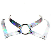 Holographic Collar Necklace