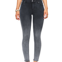 Graphite Ombre Ankle Skinnys
