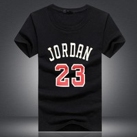 PEAP91W Brand Clothing 23 jordan t shirt Swag T-Shirt Cotton Men Tshirt Homme Fitness Camiseta