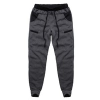 Mens Casual Baggy Lined Tracksuit Jogger Harem Pants. Size 3XL