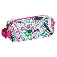 Gear-Up Preppy Surf Paisley Pencil Case
