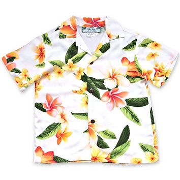 rain hawaiian boy shirt
