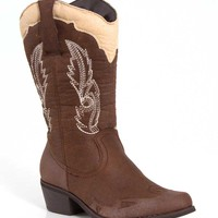 Pierre Dumas Cowgirl Boots in Brown 89895-BRN