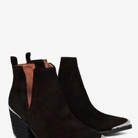 Jeffrey Campbell Cromwell Distressed Suede Boot