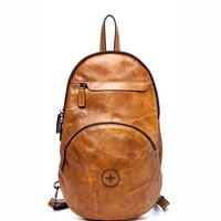 Vignelli O Leather Backpack