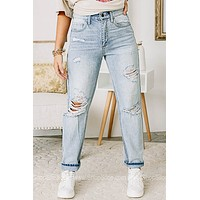 90's Babe High Rise Relaxed Fit Jeans