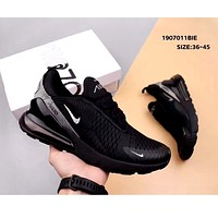 NIKE AIR MAX 270 Tide brand atmospheric cushion casual wild sports shoes