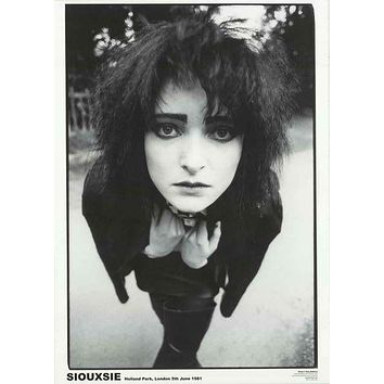 Siouxsie Sioux London 1981 Poster 24x33