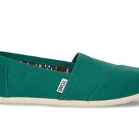 Galapagos Green Women's Canvas Classics