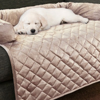 Pet Sofa Cover Furniture Protector Pet Covers with Bolster Dog or Cat