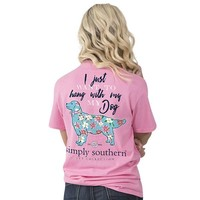 "Youth Simply Southern ""My Dog"" Short Sleeve Tee"