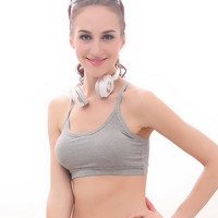 Stretchy Modal Crop Top