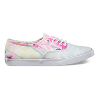 Vans Marble Authentic Lo Pro (pink/true white)