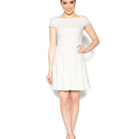 PRIMLY PERFECT WHITE SPRING DRESS WHITE