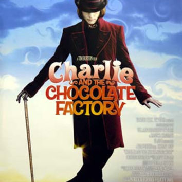Charlie and the Chocolate Factory Johnny Depp Movie Poster 27x39