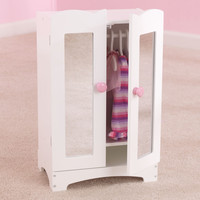 KidKraft Lil Doll Armoire w/ hangers (accommodates American Girl®Dolls) - 60132