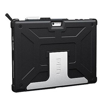 Urban Armor Gear scout UAG-SFPRO4-BLK-VP Rubber Case for Microsoft Surface Pro 4, Black | Staples®