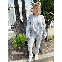 Grey Skull Lounge Set