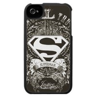 Superman - Honor, Truth iPhone 4 Case from Zazzle.com
