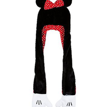 Minnie Mouse Snood With Hands - Spencer's