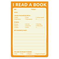 I Read a Book Notepad
