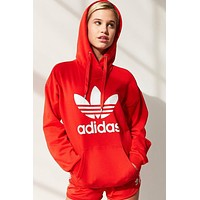 Adidas Women Fashion Hooded Top Pullover Sweater Sweatshirt Hoodie