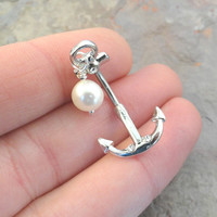 Anchor Belly Button Jewelry Ring In-N-Out
