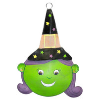 Halloween HALLOWEEN MESH FACE Mesh Metal Witch 9716633 WITCH
